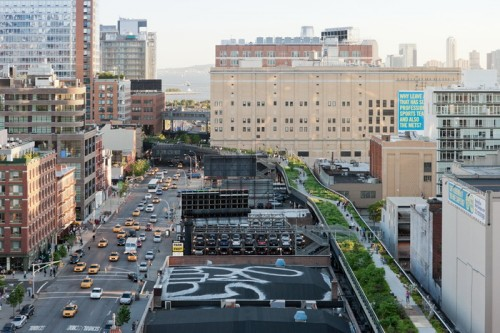The High Line: Aerial View