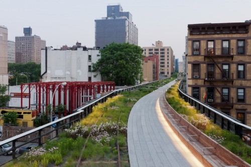 The High Line New York, Radial Bench