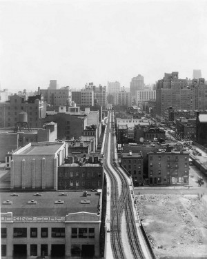 The High Line: View North from 17th Street