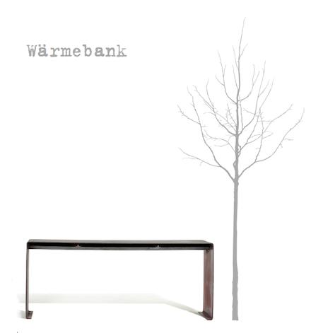 Raumgestalt Waermebank Baum