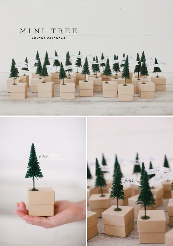Oh Happy Day Mini Tree Advent Calendar