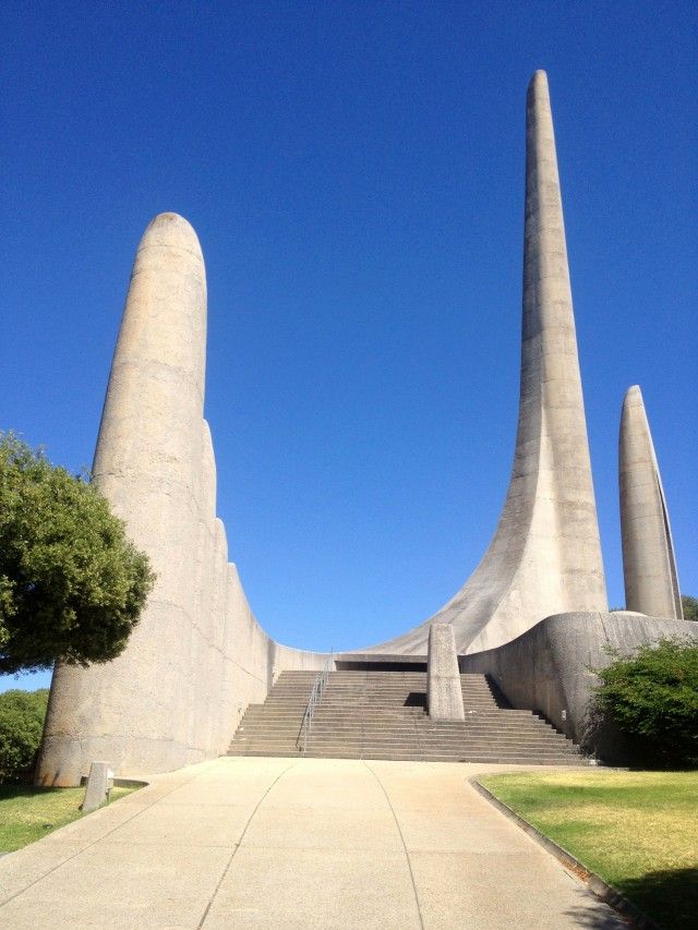 Afrikaanse Taalmonument in Paarl, Südafrika