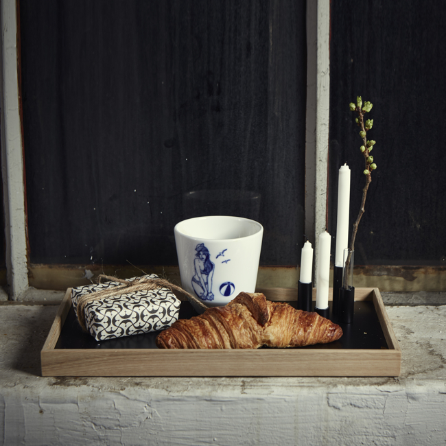 Oak Men - Candle Tray_Croissant