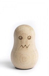 Oak Men Kartenhalter Ghost