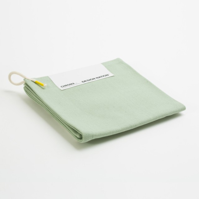 Chroma Tea Towel greyish green Geschirrtücher von Design Nation